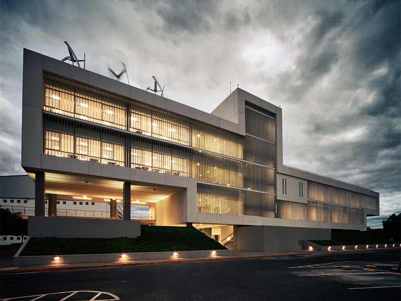 Edificio Arquitectura TEC de Monterrey en Queretaro